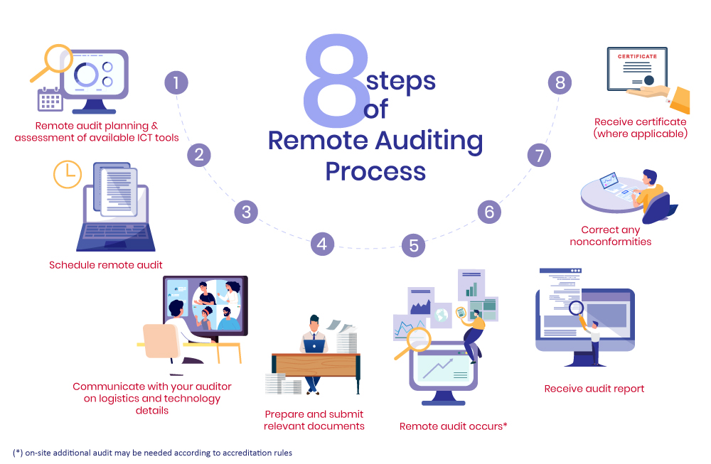 Remote Audit Infographic